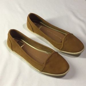dolce vita Soft Tan Leather Flats